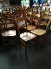 lot de 60 chaises bistrot